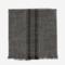 Madam Stoltz Striped Kitchen Towel dark grey 50x70