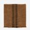 Madam Stoltz Striped Kitchen Towel burned orange 50x70