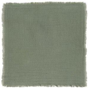 IB Laursen Stoffserviette doppelt gewebt dusty chalk green 40x40