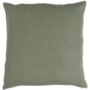 IB Laursen Leinenkissenbezug dusty chalk green 50x50 cm