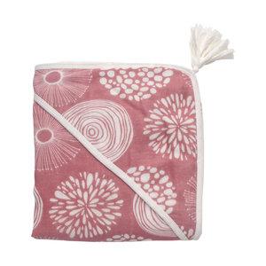 Bathcape / Wrapper Sparkle Rose 100x100