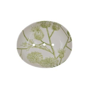 Seifenschale Midori hellgrün 13x11x4 cm