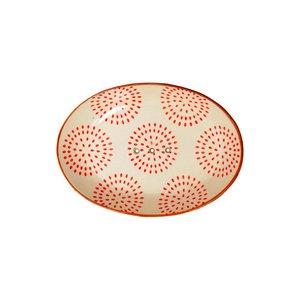 Seifenschale Tabea orange 14x9,5x2 cm