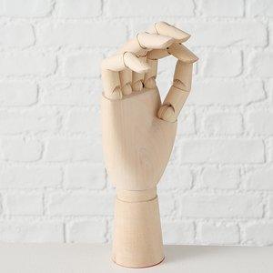Hand Gliederfigur Holz 25 cm