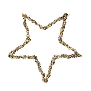 Broste Copenhagen Rattan Star Natural L 80 cm