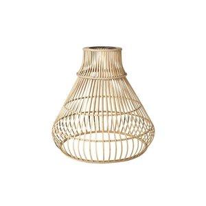Broste Copenhagen Lampenschirm Zamba Bambus Natural D:40 H:46,5 cm