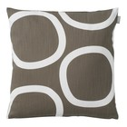 Spira of Sweden LOOP Cushion Cover brown