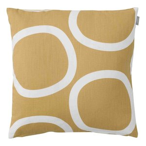 Spira of Sweden LOOP Cushion Cover honey 50x50 cm