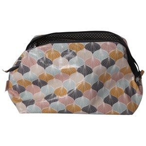 Au Maison Sponge Bag Alli Charcoal/Mustard 28x18x12