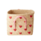 Rice Raffia Basket Hearts