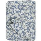 IB Laursen Quilt Blumen blau 130x180