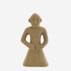 Madam Stoltz Stoneware Decoration sand H:14,5
