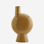 Madam Stoltz Stoneware Vase Chimney Mustard D:13,5 H:23