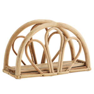 Madam Stoltz Bamboo Napkin Holder