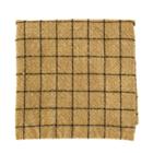 Madam Stoltz Checked Kitchen Towel Stonewashed Cotton Mustard