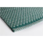 Aspegren Teppichläufer Rhombe ozeangrün 70x130