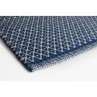 Aspegren Teppichläufer Rhombe blau 70x200
