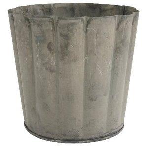 IB Laursen Metalltopf rund / breite Rillen