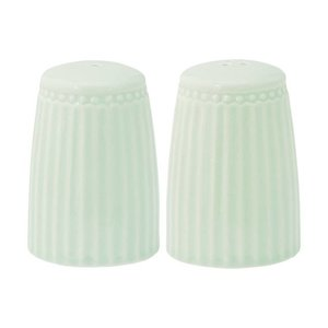 GreenGate Salt and Pepper Set Alice pale green