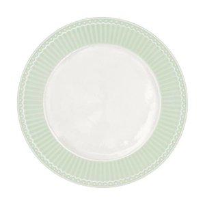 GreenGate Plate Alice pale green