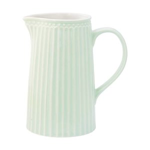 GreenGate Jug Alice pale green