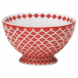French Bowl Judy red M