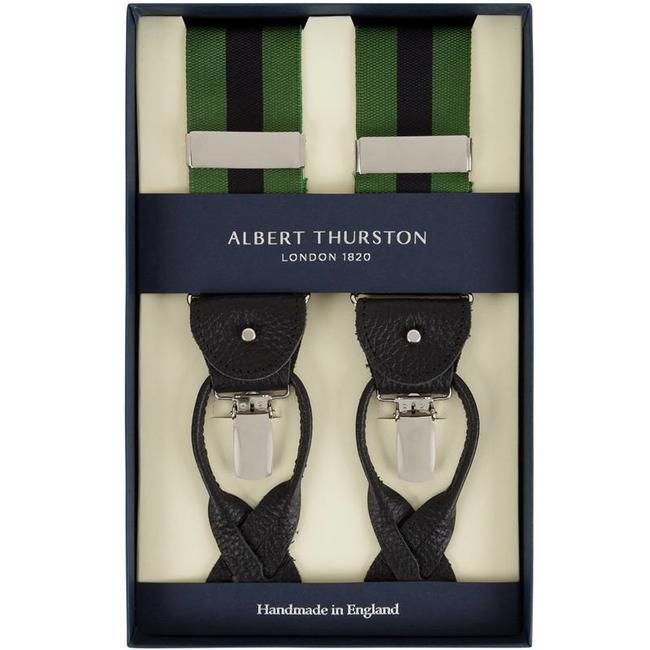Albert Thurston Bretels Groen Zwart