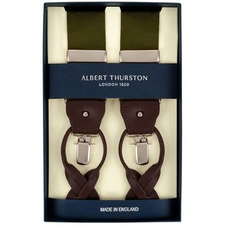 Albert Thurston Hosenträger Grün