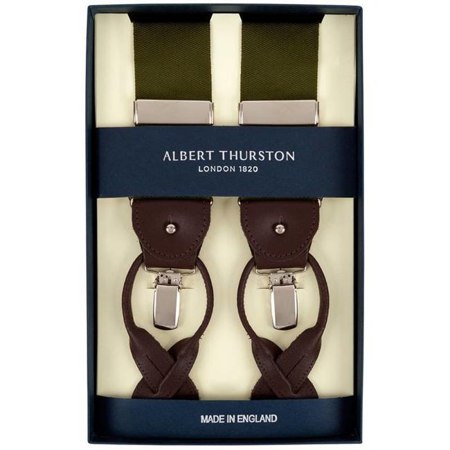 Albert Thurston Braces Green