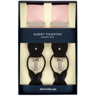 Albert Thurston Braces Pink