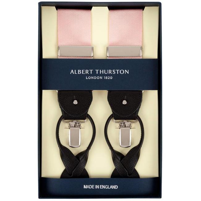 Albert Thurston Braces Pink