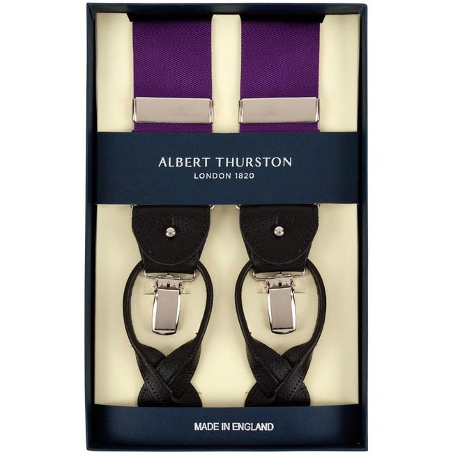 Albert Thurston Braces Purple