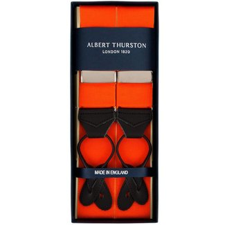 Albert Thurston Braces Orange