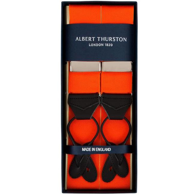 Albert Thurston Hosenträger Orange
