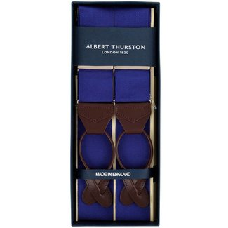 Albert Thurston Braces Cornflower Blue