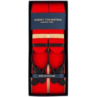 Albert Thurston Bretels Boxcloth Rood