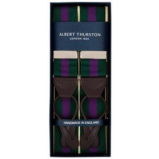 Albert Thurston Bretels Groen Paars