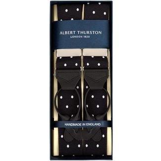 Albert Thurston Hosenträger Schwarz Weiß