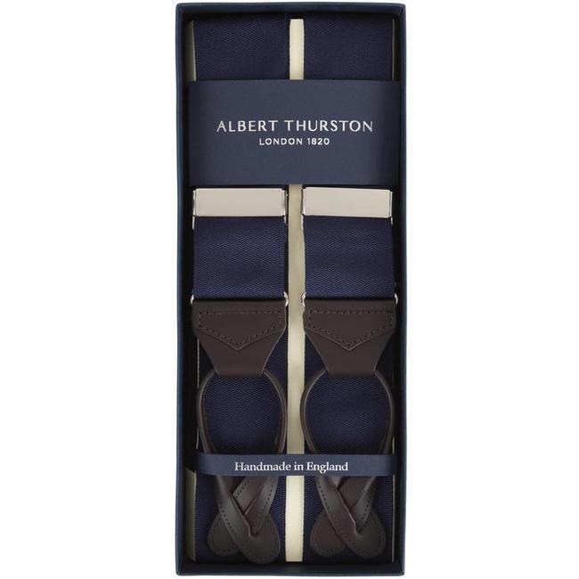 Albert Thurston Bretels Donkerblauw