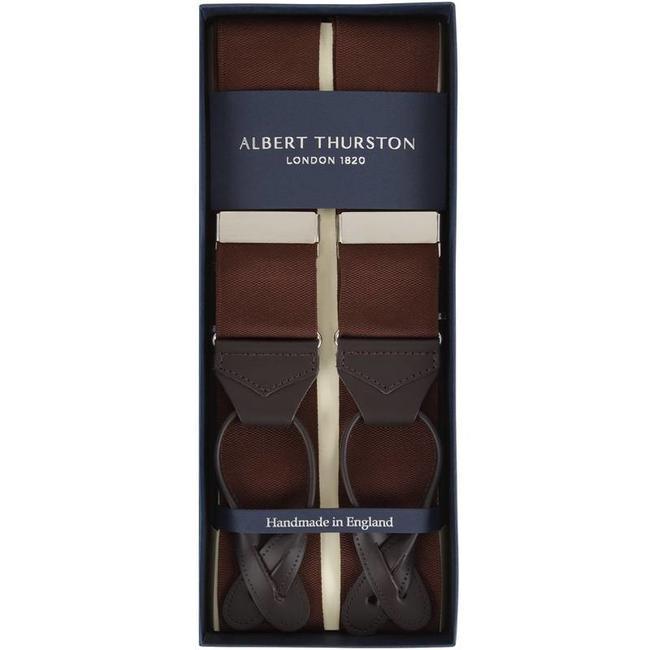 Albert Thurston Braces Brown