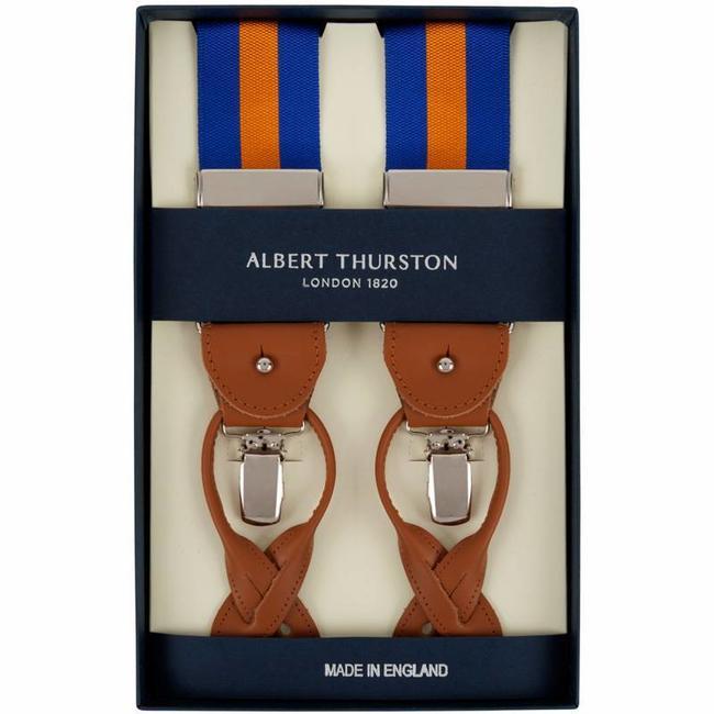 Albert Thurston Bretels Blauw Oranje