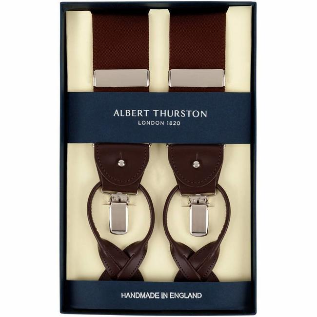 Albert Thurston Braces Brown