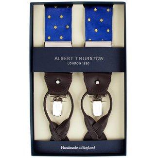 Albert Thurston Hosenträger Blau Gelb