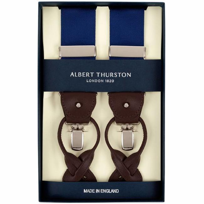 Albert Thurston Braces Blue