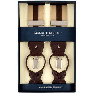 Albert Thurston Braces Beige Brown