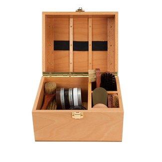 La Cordonnerie Anglaise Schuhpflege Box Groom Buchenholz