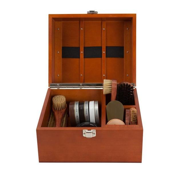 La Cordonnerie Anglaise Schuhpflege Box Groom Rosenholz
