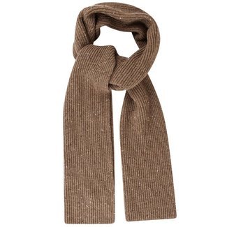 Mr. Crevan Donegal Wool Scarf Beige