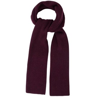Mr. Crevan Donegal Wool Scarf Burgundy