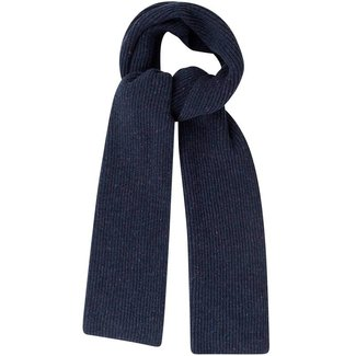 Mr. Crevan Donegal Wool Scarf Navy